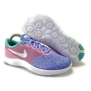 Nike Youth Girl's Flex Contact Athletic Shoes Sz 8